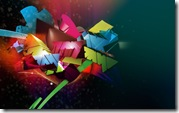 3D Art Colorful backgrounds Wallpaper