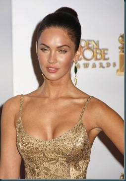the cleves of Megan Fox 3 hollywood stars photos