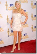 Paris Hilton 2010 MTV Movie Awards