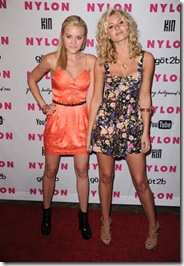 Alyson and Amanda Michalka