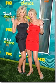 Aly and AJ Michalka 2009 Teen Choice Awards