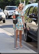 Paris Hilton Cleavage Candids in Los Angeles 15