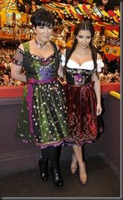 Kim Kardashian in Munich at Oktoberfest hottest cleavage 5
