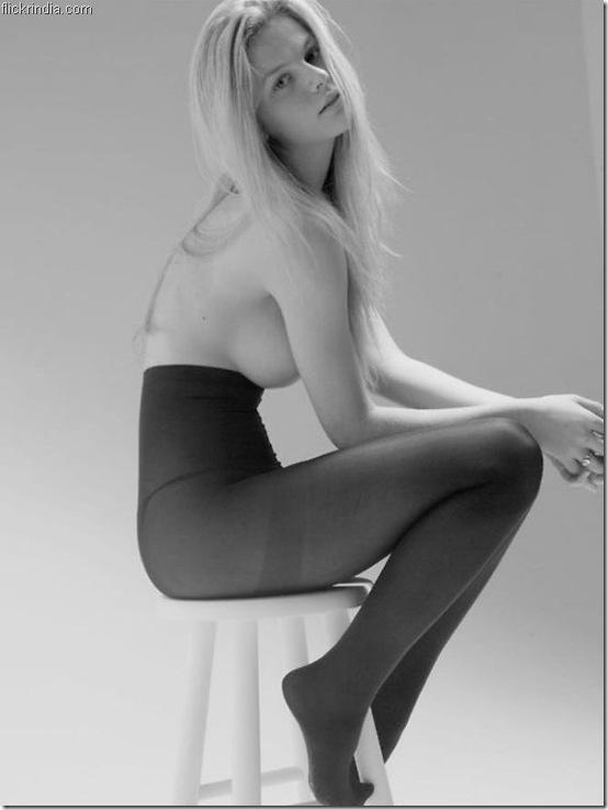 Brooklyn Decker Mark Squires' B&W lingerie Photoshoot