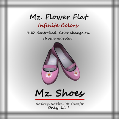 Mz Flower Flat Panel Front
