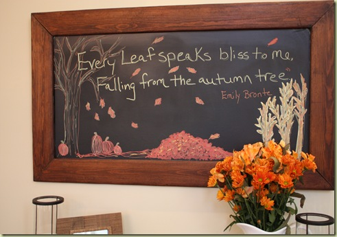 Thanksgiving Blackboard