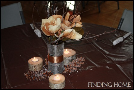 Centerpieces on a VERY Small Budget