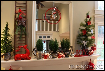 hats and christmas mantel 012