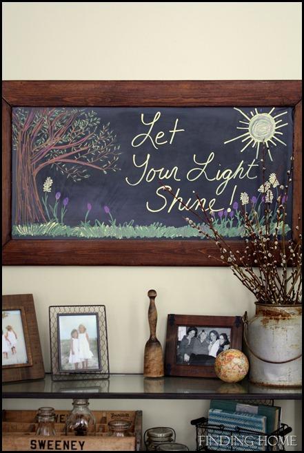 shine chalkboard 006