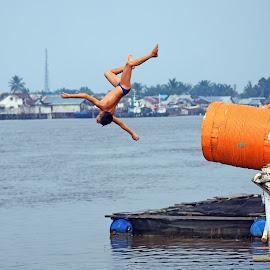 jump by Rendy Mauliansyah - Babies & Children Children Candids