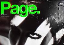 Imagen El diseño y diagramación de la revista PAGE