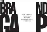 """Imagen """"The Brand Gap"""" acerca de las """"Marcas"""", los negocios y el diseño..."""