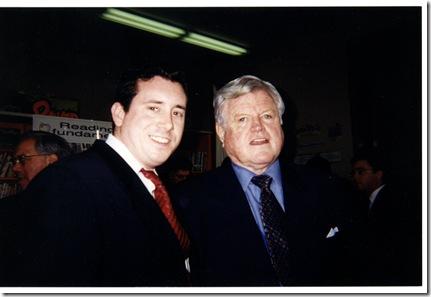 Sean with Senator