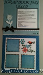 Scrapbook and frame prject 001