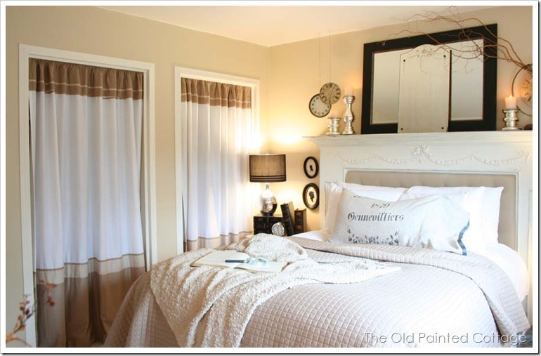 Cottage8 Master Bedroom: Behind the Scenes | The Old Painted ...