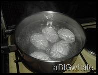 boil eggs ^_^