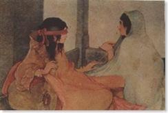 gandhari & kunti