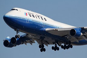 Boeing 747 United Airlines
