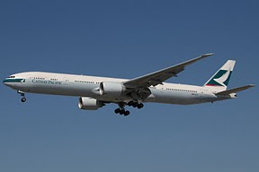 Airbus 330 Cathay Pacific