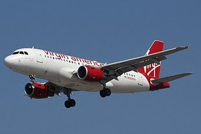Airbus 319 Virgin America