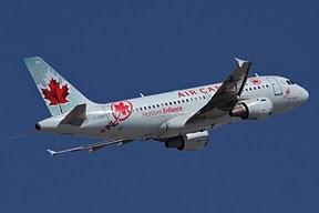 Airbus 319 Air Canada (Horizons Enfance