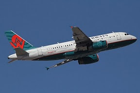 Airbus 319 US Airways (America West colors)