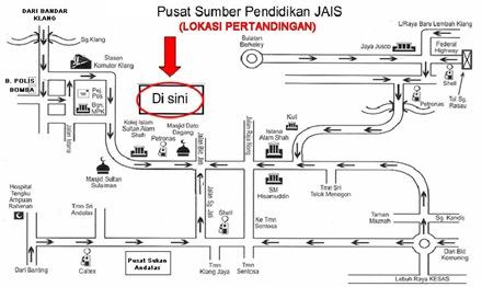 plan lokasi PSPJ