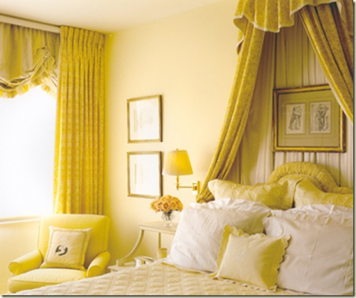 alexa Hampton yellow bedroom