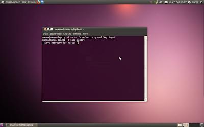 Ubuntu-Linux Optimierung: Keyring löschen