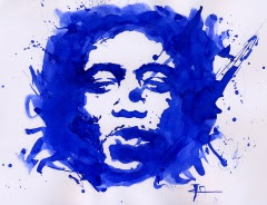 Hendrix painting by furibond