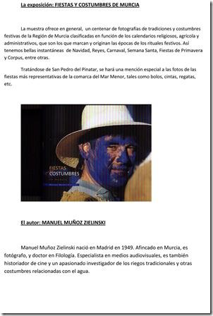 FIESTAS Y COSTUMBRES DE MURCIA - EXPO