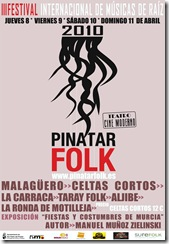 cartel pinatar folk 2010