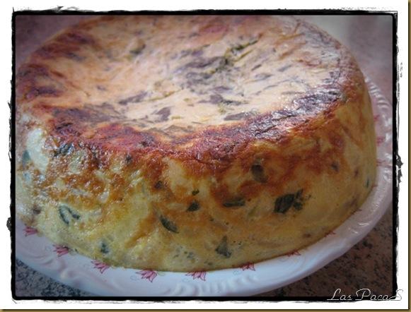 tortilla española con espinacas y calabacín (2)