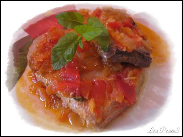 atún estilo Sicilia