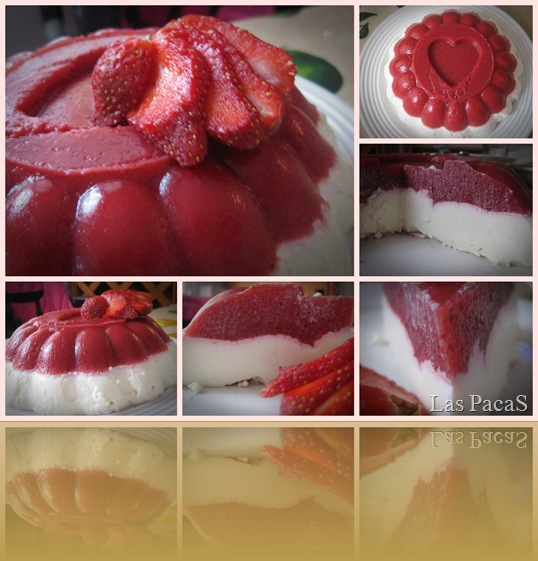 collage fresas con nata