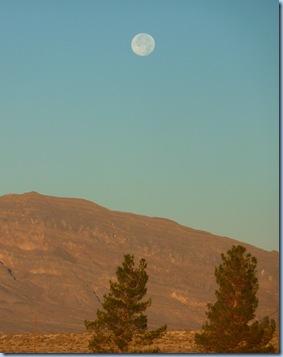 Amargosa Valley Full Moon