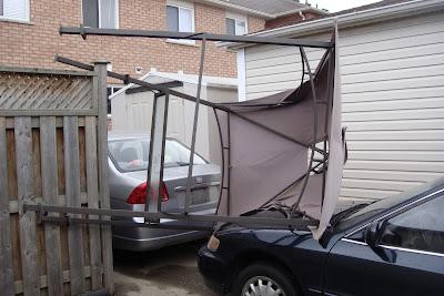 Ảnh: Lều trên mũi xe (2)