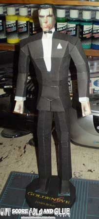 James Bond Papercraft