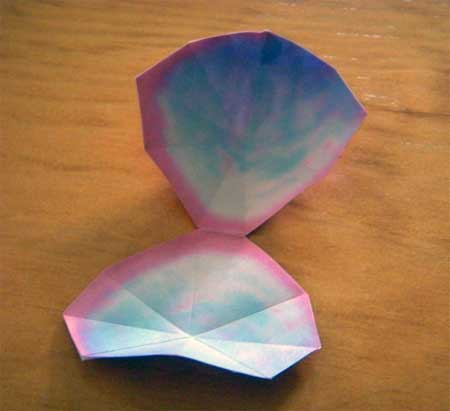 Clam Papercraft