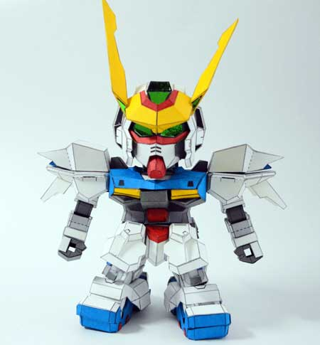 Gundam Astray Out Frame Papercraft