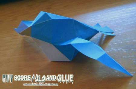 Super Mario 64 Bird Papercraft