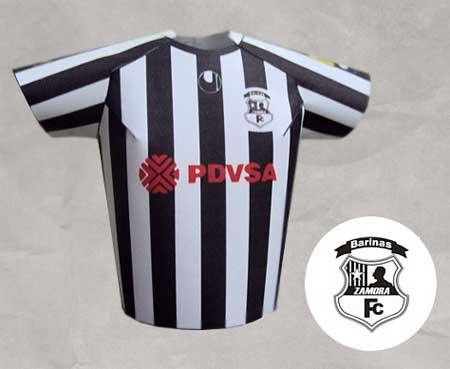 Zamora FC Papercraft