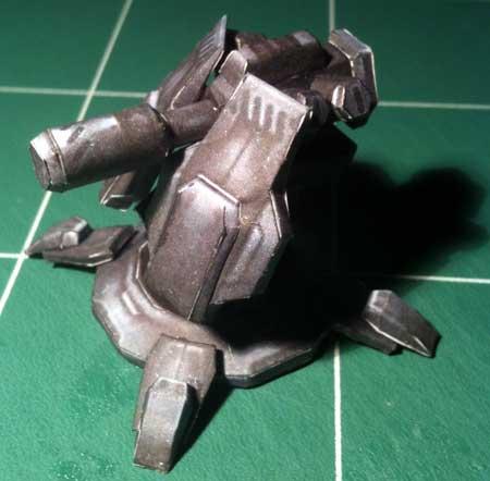 Terran Auto-Turret Papercraft