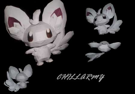 Pokemon Chillarmy Papercraft