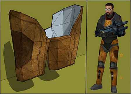 Half-Life 2 Papercraft