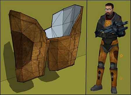 Half-Life 2 Papercraft