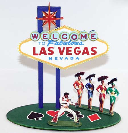 Las Vegas Sign Papercraft