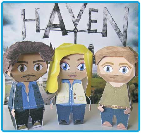 Syfy Haven Papercraft