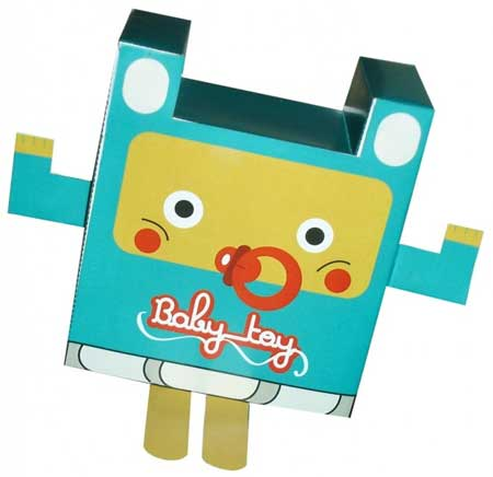 Baby Toy Paper Toy