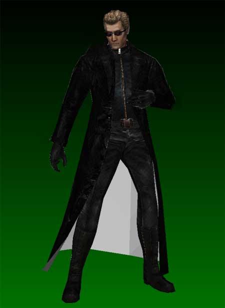Resident Evil Albert Wesker Papercraft